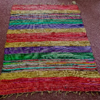 Recycled Silk Rug