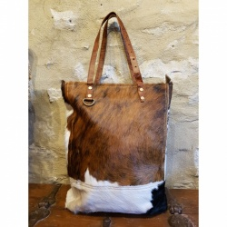 Cowhide Anytime bag,  great for all occasions