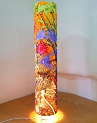 Botanical Art Floor Lamp